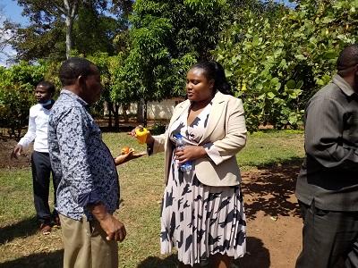 Acting Ambassador of Malawi to Tanzania visited TARI Naliendele