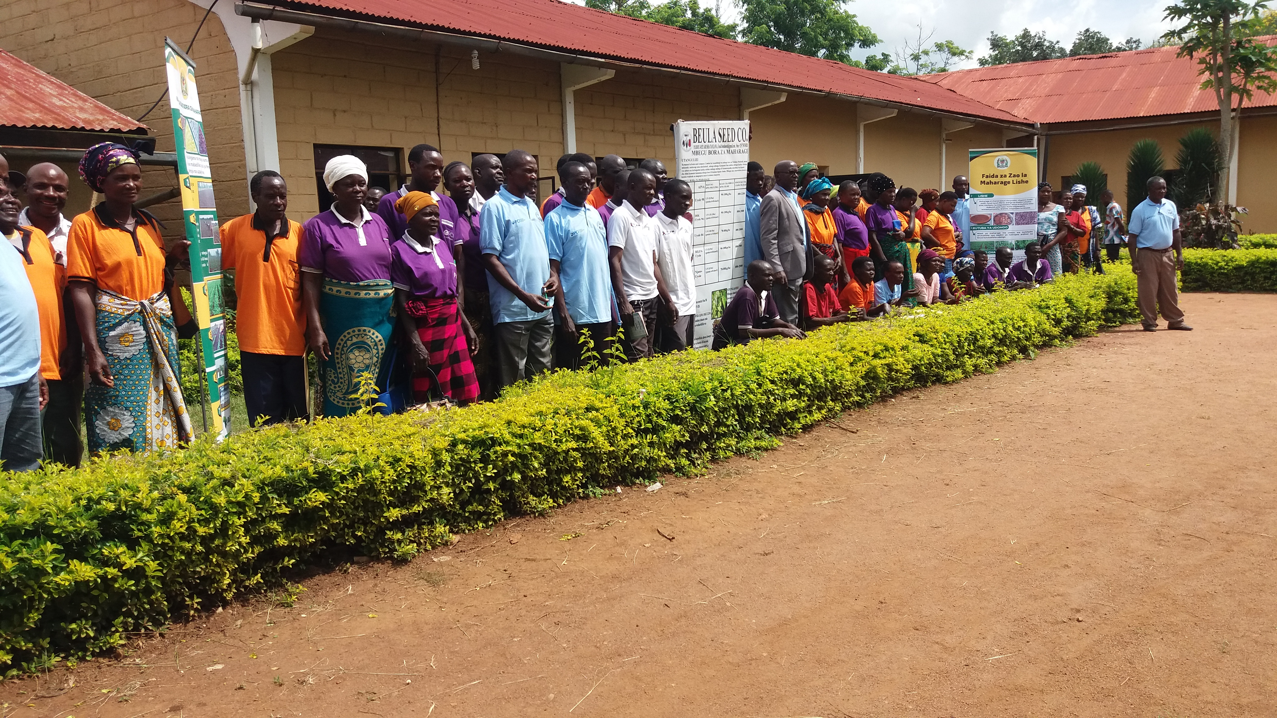 TARI Maruku, CIAT and Beuda Seed Co and Cons. Ltd participated in farmers field day conducted by PCI and Butiama DC at Buhemba ward, Butiama district in Mara region 21-22 January 2021
