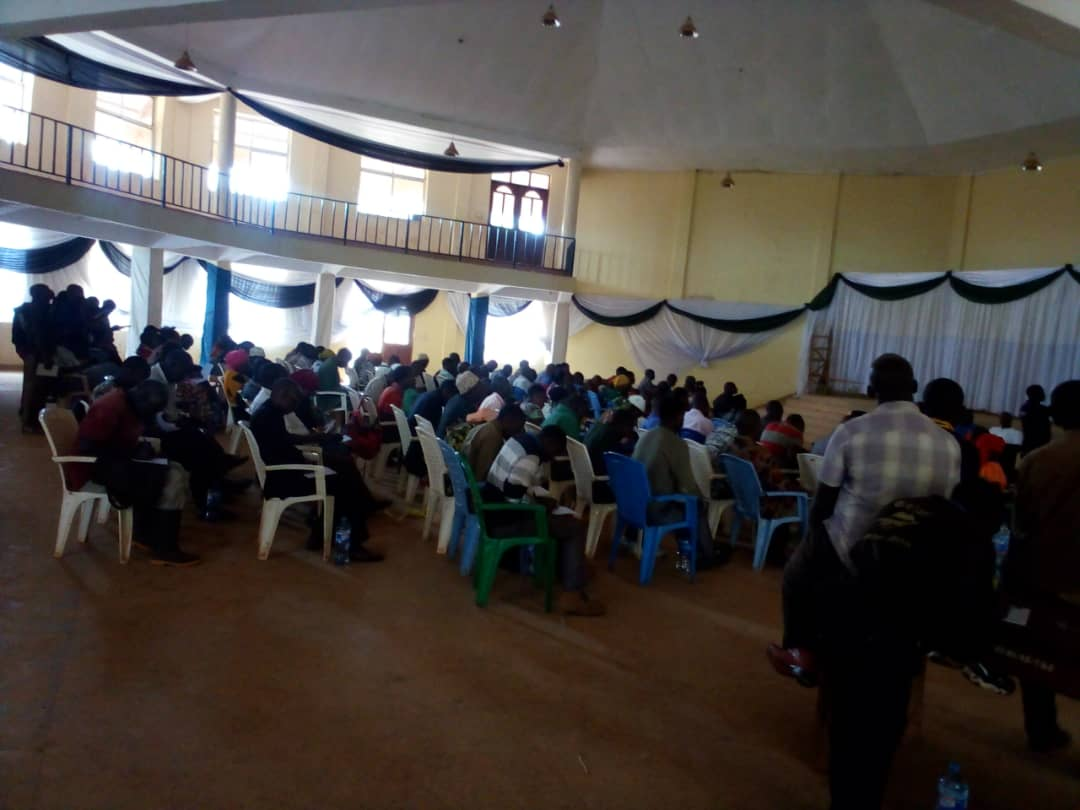 Farmers in Kibondo district, Kigoma region continue to receive training on best variety of  Oil palm production prepared by the Tanzania Agricultural Research Institute TARI Kihinga Center