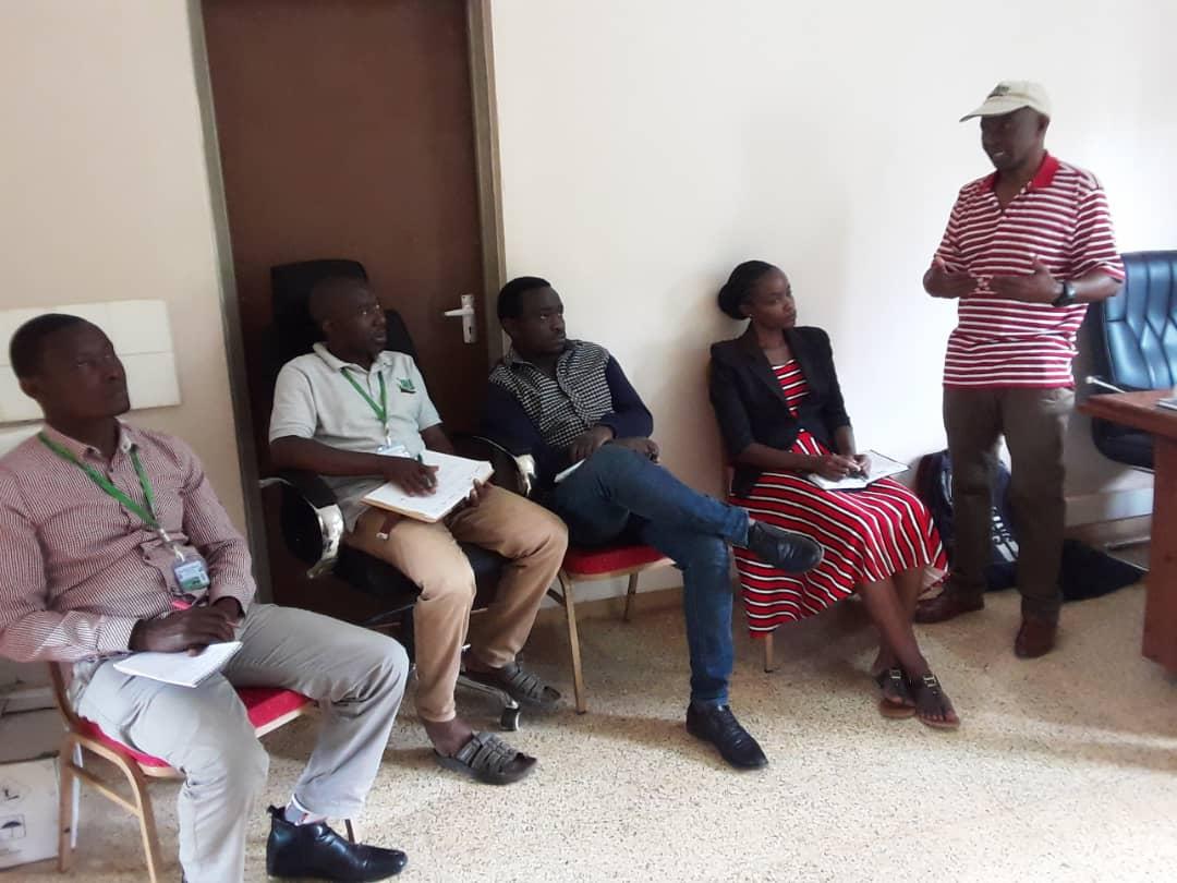TARI-IFAKARA Research team attending training on Seed Law's held at TARI-Ifakara