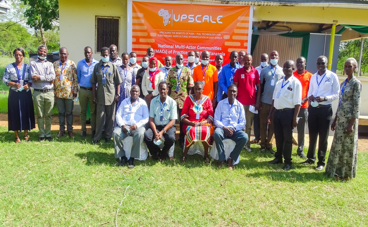 TARI UKIRIGURU Centre organized the practice workshop of NATIONAL MULTI-ACTOR COMMUNITIES (MAC), held at AICT - MUSOMA was  for UPSCALING THE BENEFIT OF PUSH - PULL TECHNOLOGY FOR SUSTAINABLE AGRICULTURAL IN EAST AFRICA
