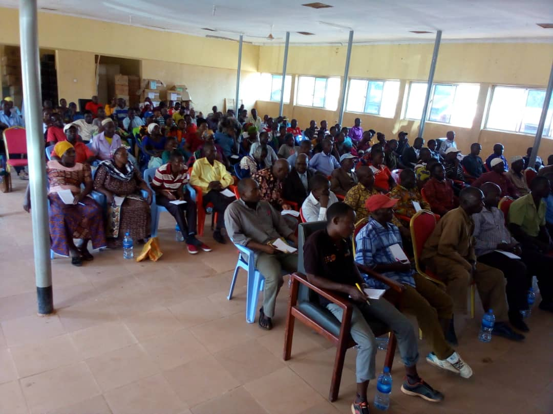 Farmers in Kakonko district, Kigoma region continue to receive training on Oil Palm Production.