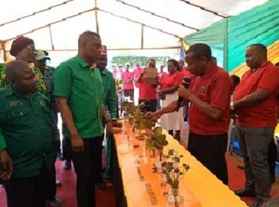 Shaka Hamdu Shaka - CCM Ideology and Publicity Secretary visited TARI Naliendele