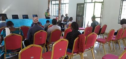 A visit by Kilombero Rice Seed Producers TARI Dakawa in a study tour