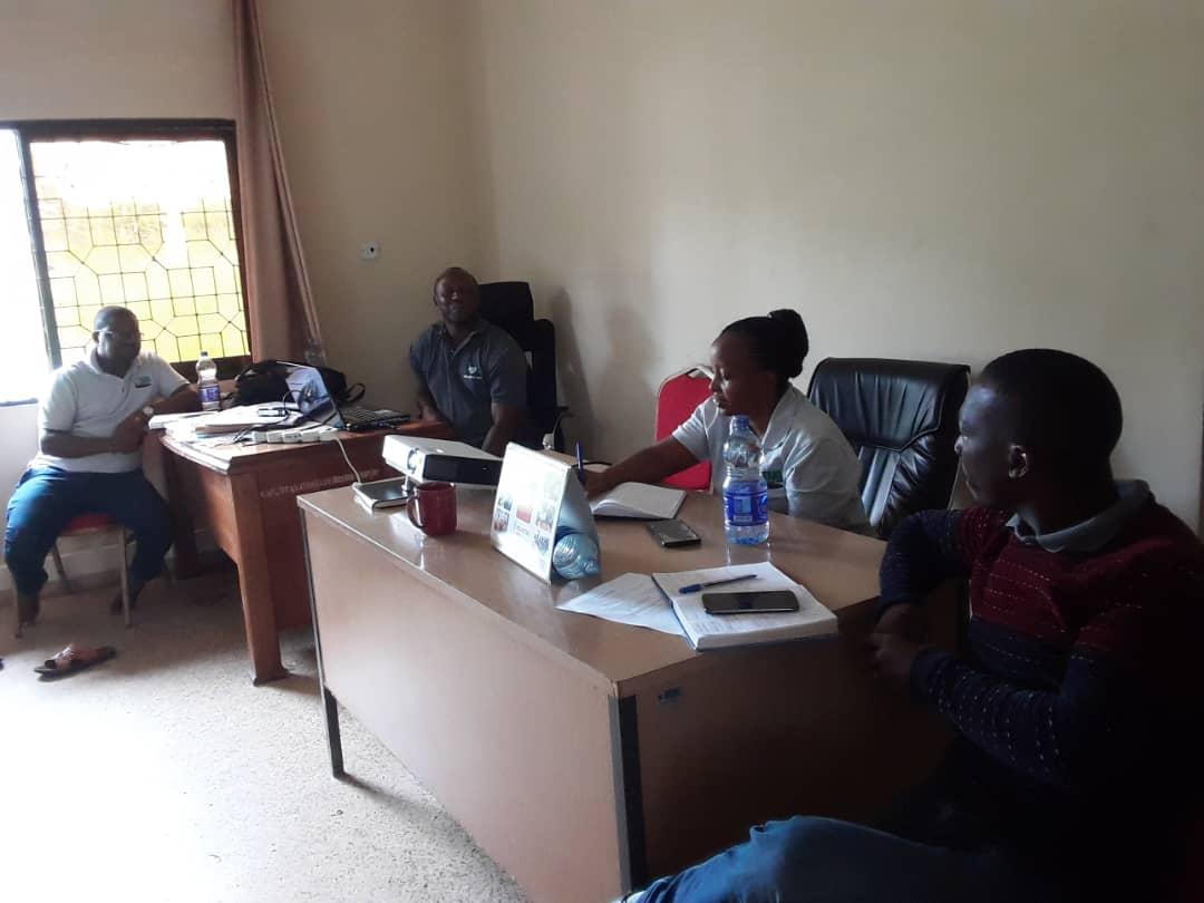 TARI-Kibaha sugar cane breeders in mentorship program at TARI-Ifakara as a part of capacity building